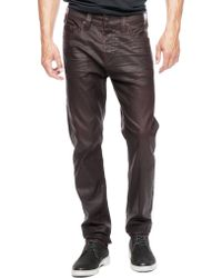 True Religion Dean Tapered Coated Mens Jean - Lyst
