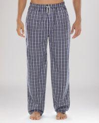 Michael Kors Woven Plaid Pajama Pants - Lyst