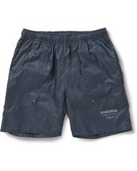 Nike X Undercover Gyakusou Embossed Woven Shorts - Lyst