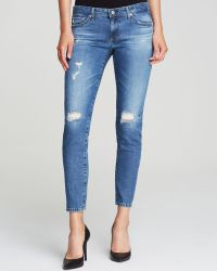 AG Adriano Goldschmied Jeans - Stilt Cigarette In 17 Years Riot - Lyst