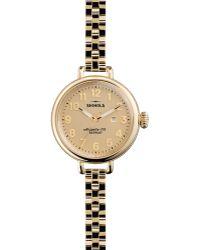 Shinola - Gold-tone Birdy Watch, 34mm - Lyst