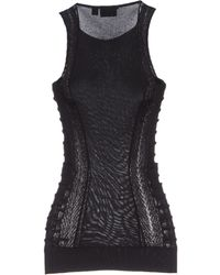 Just Cavalli Black Sweater - Lyst