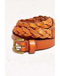 Ecote - Double Wrap Braid Belt - Lyst