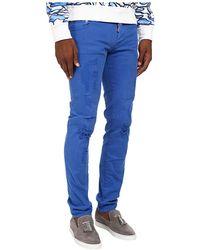 DSquared2 Garment Dyed Slim Jean - Lyst