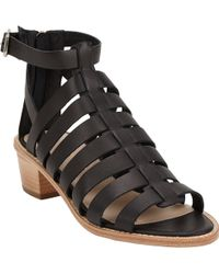 Loeffler Randall Rooney Fisherman Sandals - Lyst