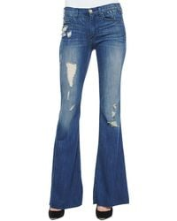 Mcguire Majorelle Distressed Flare Jeans - Lyst