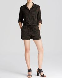 Sanctuary - Soft City Camo Romper - Lyst