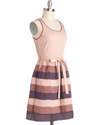 ModCloth Rose Garden Gathering Dress - Lyst