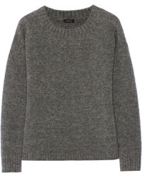 Theory Trinzia Wool-blend Sweater - Lyst