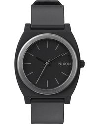 Nixon Ano Time Teller P Midnight Blue Watch - Lyst