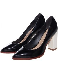 Loeffler Randall Black and Winter Remy Pump - Lyst