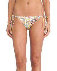 Shoshanna String Bikini Bottom - Lyst