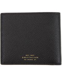 Smythson Panama Wallet - Lyst
