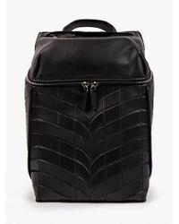 Alexander Wang Men'S Black Leather And Neoprene Backpack - Lyst