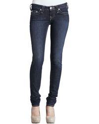 True Religion Stella Lonestar Low-rise Skinny Jeans - Lyst
