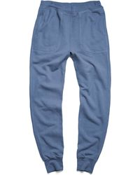 Todd Snyder   Mercer Sweatpant In Royal Navy   Lyst