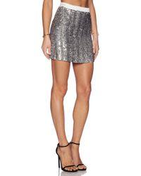 MLV - June Sequin Skirt - Lyst