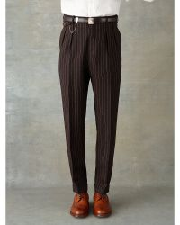 RRL Slim-Fit Linen-Wool Trouser - Lyst