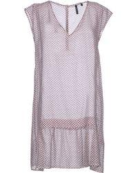 Woolrich Short Dress - Lyst