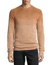 Diesel Altair Organic Crewneck Sweater - Lyst