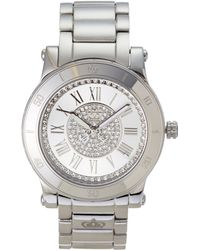 Juicy Couture 1900854 Silver-Tone Watch - Lyst