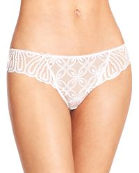 Wacoal Melodie Thong - Lyst