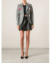 Moschino Cheap & Chic Embellished Blazer - Lyst