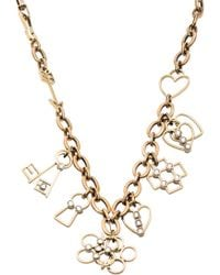 Lanvin Luck Charm Necklace - Lyst