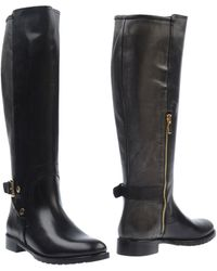 Noa - Leather Knee-High Boots - Lyst