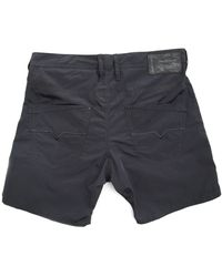 Diesel Kroobeach Black Swim Shorts - Lyst