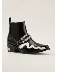 Toga Pulla Panelled Ankle Boots - Lyst