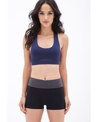 Forever 21 Knit Yoga Shorts - Lyst