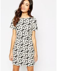 Oasis Butterfly Shift Dress - Lyst