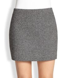 T By Alexander Wang Neoprene Mini Skirt - Lyst