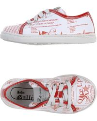 John Galliano Low-tops  Trainers - Lyst