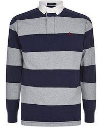 Polo Ralph Lauren Striped Rugby Shirt - Lyst