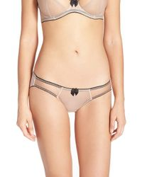 Claudette - Mesh Bikini - Lyst