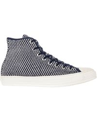 Converse The Premium Woven Chuck Taylor All Star Hi Sneaker - Lyst
