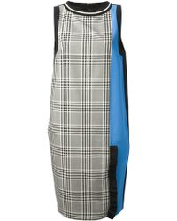 Emanuel Ungaro Checked Dress - Lyst
