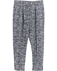 Damir Doma Womens Relaxed Oversized Plava Pants - Lyst