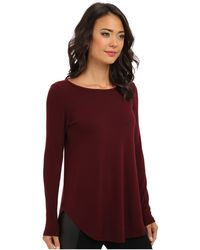 Karen Kane Sweater Knit Top - Lyst