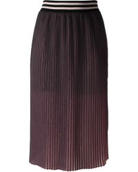 Marco Bologna Pleated Skirt - Lyst