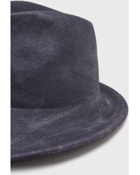 Reinhard Plank Dennis Lapin Hat blue - Lyst
