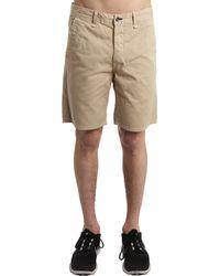 Rag & Bone Blade Short In Khaki beige - Lyst