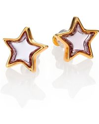 Marc By Marc Jacobs Mirrored Star Stud Earrings - Lyst