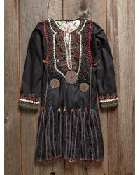 Free People Vintage Beaded Dress - Lyst