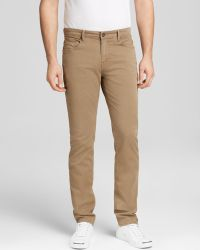 Paige Jeans - Normandie Slim Straight Fit in Earth - Lyst