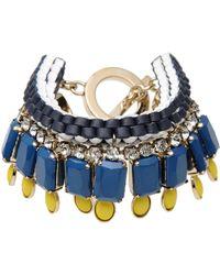 Vionnet Bracelet blue - Lyst