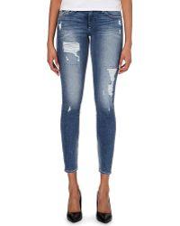 True Religion Halle Super-Skinny Mid-Rise Jeans - For Women - Lyst