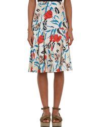 Thakoon Floral Print A--Line Skirt - Lyst